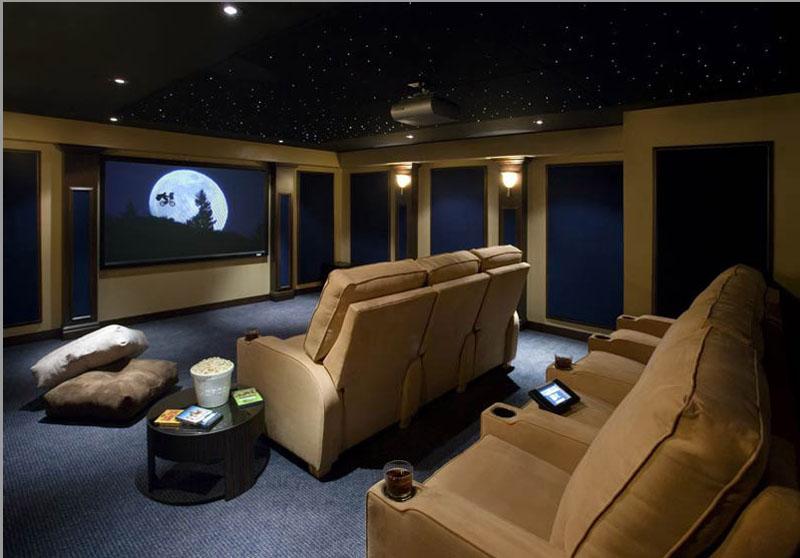 Transforme sua sala em um cinema bellage rio de janeiro - Sala cinema in casa ...