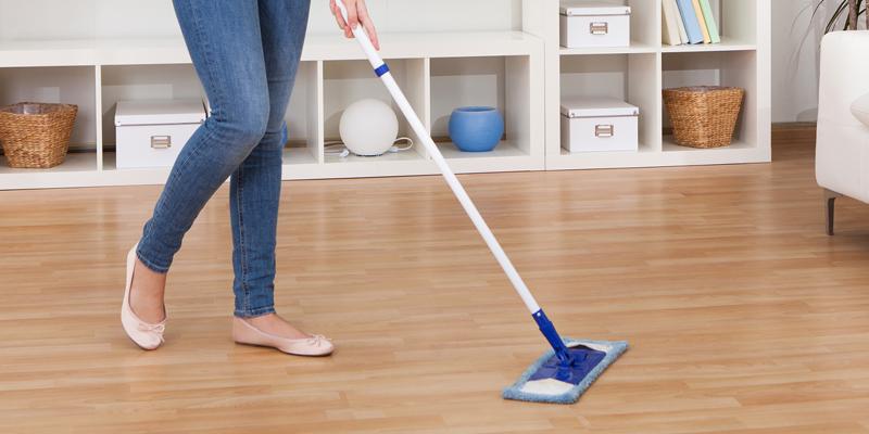 limpar pisos