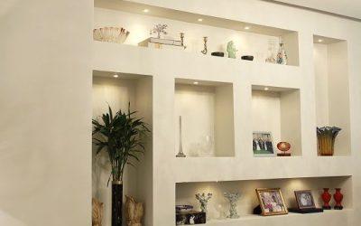 Invista em Nichos com Drywall para a sua decoração