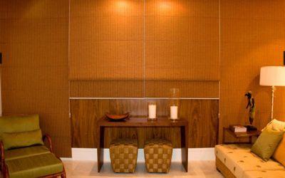 Conheça a cortina romana, uma ótima opção para a decoração da sua casa