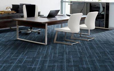 Vantagens de usar um carpete no seu escritório