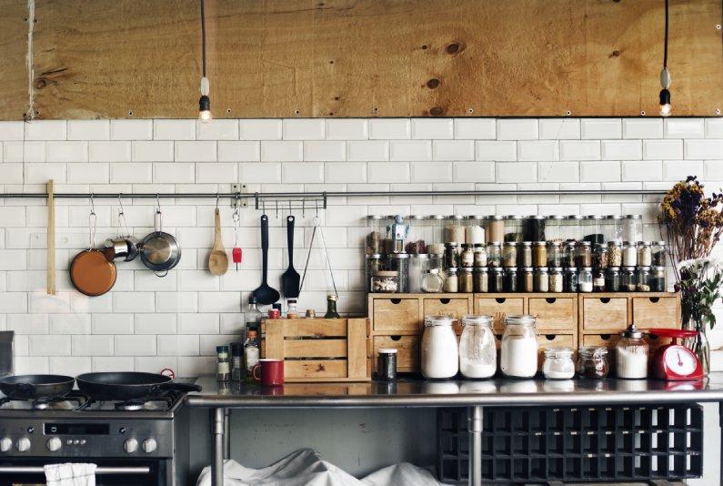 Papel de parede para a sua cozinha  - Bellage