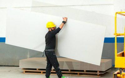 Obra limpa e rápida com Drywall para a sua residência