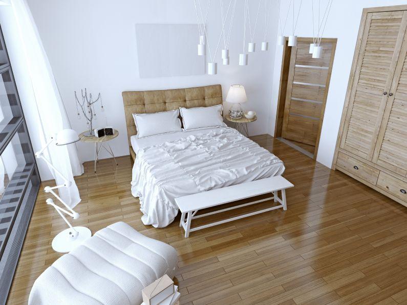 Qual é o piso ideal para salas e quartos?