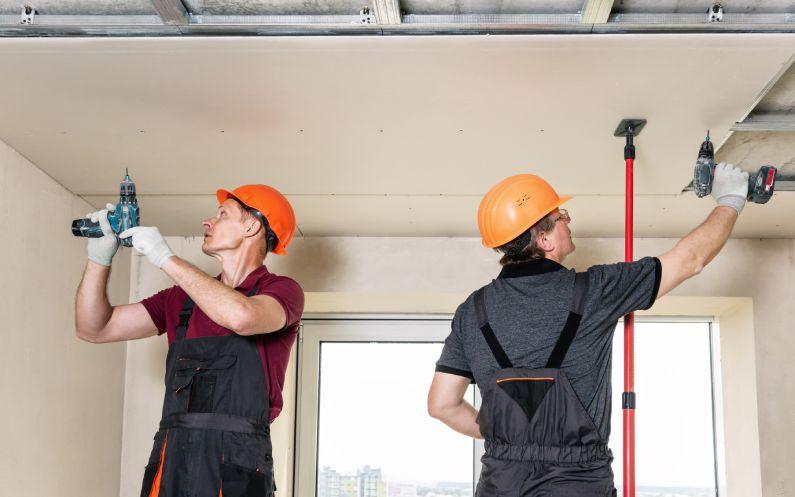 O que pode ser feito com drywall na sua empresa?